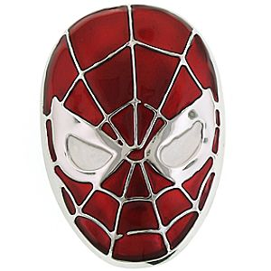 Spider-Man Mask Belt Buckle by 1928 Jewelry
