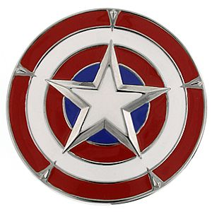 Captain America Belt Buckle by 1928 Jewelry