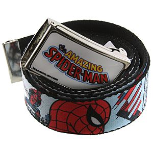 The Amazing Spider-Man Belt with Buckle by 1928 Jewelry
