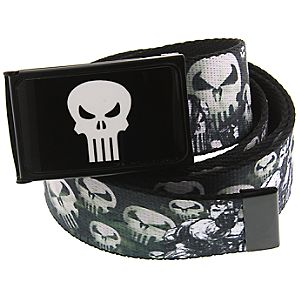 The Punisher Belt with Buckle by 1928 Jewelry