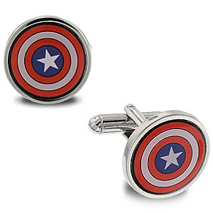 Captain America Cufflinks by 1928 Jewelry