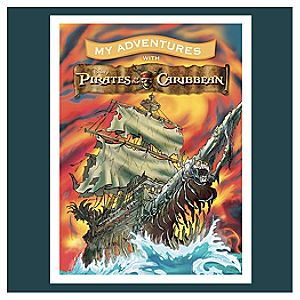 Pirates of the Caribbean My Adventures Personalized Book -- Standard Format