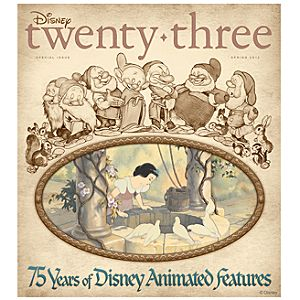 D23 Disney twenty-three Spring 2012 Magazine -- Membership Exclusive Cover