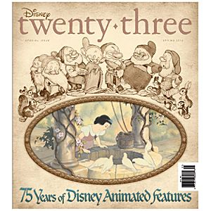 D23 Disney twenty-three Spring 2012 Magazine