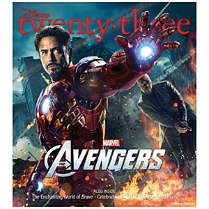 D23 Disney twenty-three Summer 2012 Magazine -- Iron Man -- Membership Exclusive Cover