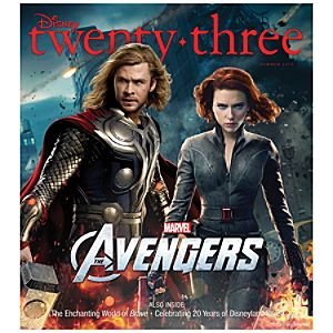 D23 Disney twenty-three Summer 2012 Magazine -- Thor -- Membership Exclusive Cover