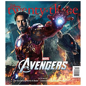 D23 Disney twenty-three Summer 2012 Magazine -- Iron Man Cover