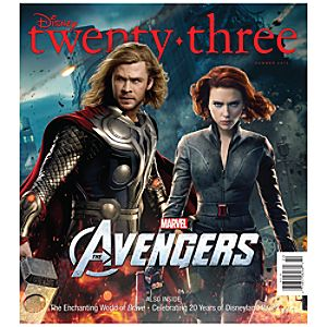D23 Disney twenty-three Summer 2012 Magazine -- Thor Cover