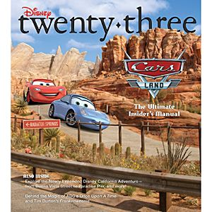 D23 Disney twenty-three Fall 2012 Magazine -- Membership Exclusive Cover