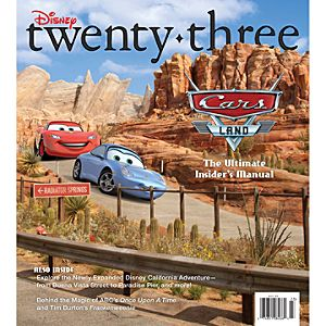 D23 Disney twenty-three Fall 2012 Magazine