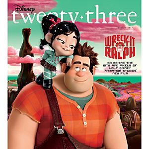 D23 Disney twenty-three Magazine Winter 2012 Issue