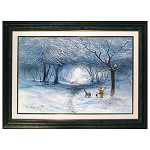 Winter Walk Limited Edition Giclée