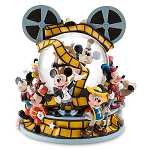 Mickey Through the Years Mickey Mouse Snowglobe