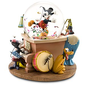 Mickey Mouse & Friends Musical Snowglobe