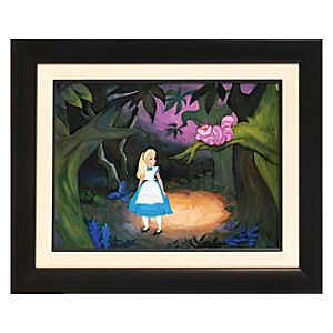 Alice in Wonderland ''The Cat Only Grinned'' Gicle� - Limited Edition