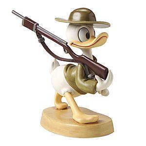 WDCC Donald Duck Basic Training Figurine