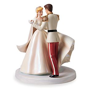 WDCC Cinderella and Prince Charming Happily Ever After Cake Topper