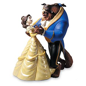WDCC Belle and The Beast Tale as Old as Time Figurine