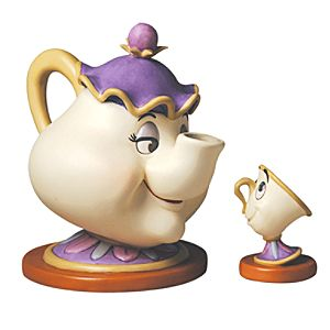 WDCC Mrs. Potts & Chip Good Night, Luv. Figurine