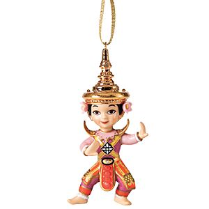 WDCC its a small world Thailand Sawat-dee (Hello) Ornament