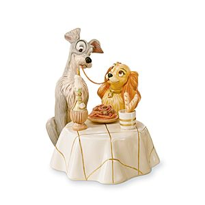 Lady and the Tramp Figurine by Lenox
