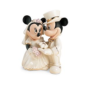 Minnies Dream Wedding Figurine by Lenox