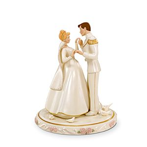 Cinderella's Wedding Day Cake Topper by Lenox