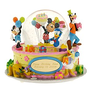Mickey & Friends Happy Anything Personalized Snowglobe