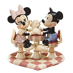 Mickeys Soda Shop Sweetheart Figurine by Lenox