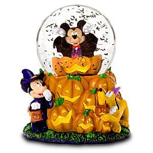 Vampire Mickey Mouse Snowglobe