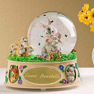 Personalized Thumper Snow Globe