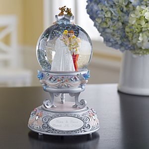 Personalized Wedding Cinderella Snowglobe