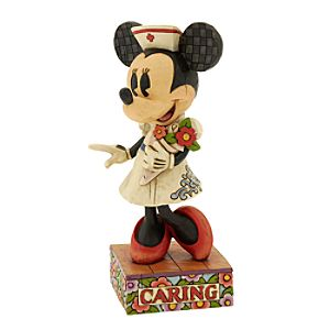 Nurse Minnie Caring is Contagious Figurine by Jim Shore
