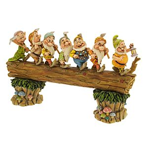 Seven Dwarfs Homeward Bound Figurine by Jim Shore