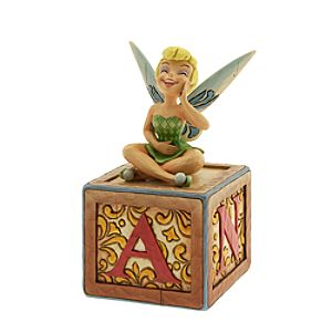 Tinker Bell A Big Laugh Box Figurine by Jim Shore