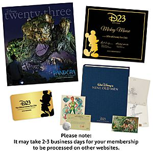 D23 Silver Membership Renewal to Gold Membership