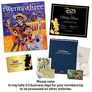 D23 Gold Membership Upgrade to Gold Family Membership