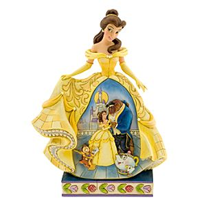 Belle Moonlit Enchantment Figurine by Jim Shore