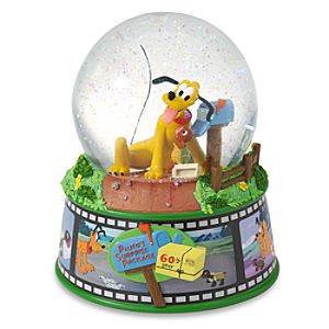60th Anniversary Plutos Surprise Package Snowglobe