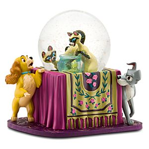Lady and the Tramp Snowglobe