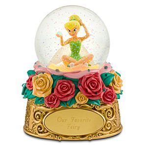 Personalized Tinker Bell Snow Globe
