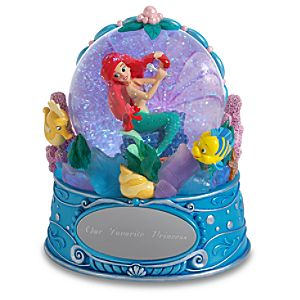 Personalized The Little Mermaid Snow Globe
