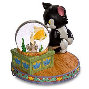 Jumbo Figaro and Cleo Snow Globe