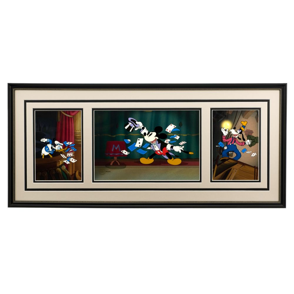 Mickey Mouse ''Magician Mickey Triptych'' Limited Edition Sericel