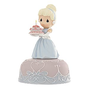 Cinderella Birthday Musical Figurine by Precious Moments