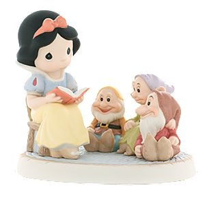Gathering Friends Together Is a Wonderful Story -- Snow White Figurine by Precious Moments