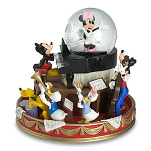 Music Hall Mickey Mouse Snow Globe