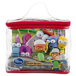 Handy Manny Bath Toy Play Set -- 5-Pc.