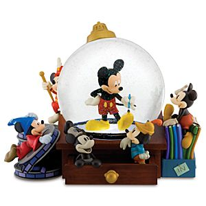 Mickey Mouse Snow Globe Mickey Through the Years