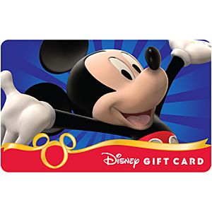 Customized Disney Gift Card with Holder